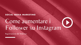 Come aumentare i follower su Instagram