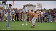 Happy Gilmore yelling at ball