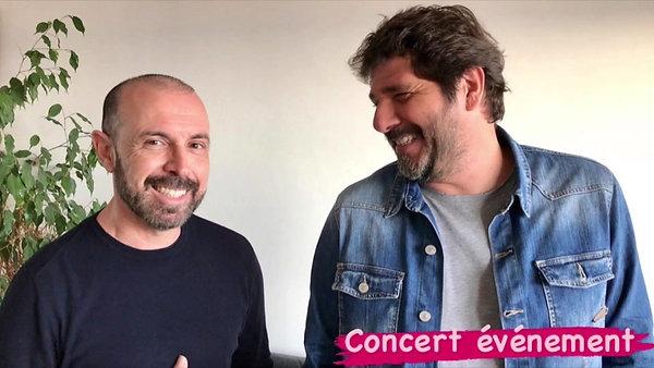 Patrick FIORI vous présente mon concert événement live stream