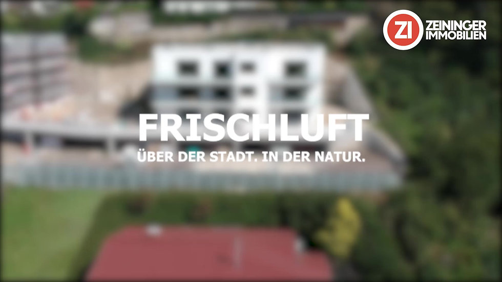 Frischluft- Über der Stadt. In der Natur.