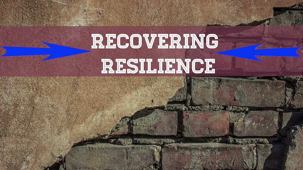 Recovering Resilience