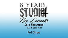 S4 SOLOS May 3rd 2019 4-30pm