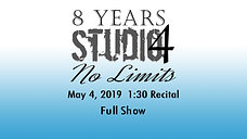 S4 show 3 May 4th 2019 1-30pm