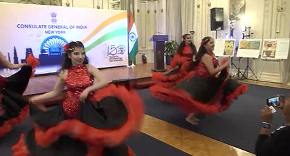 Diwali Celebration at Indian Consulate in NY