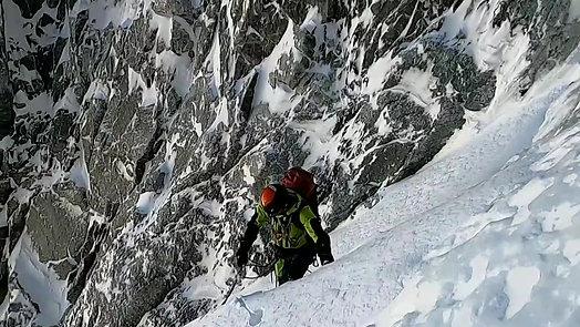 Mont Blanc du Tacul - Goulotte Gabarrou Albinoni