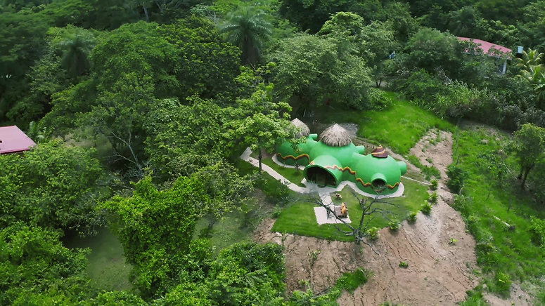 Green Moon Lodge - aerial view