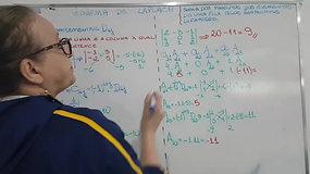 2º EM A e B - Matemática - Determinantes - Laplace - parte 4