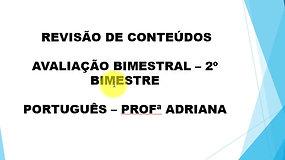 6º Ano - Português