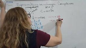3º EM A e B - Matemática - Forma Trigonométrica - Números Complexos I