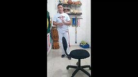 2º ANO A - 16/09/2020 - Capoeira