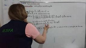3º EM A e B - Matemática - Adição, subtração e multiplicação de polinômios II