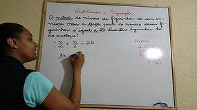 7º A e B - Matemática - parte 2