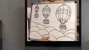 Desenho Balões - Oficina de Arte