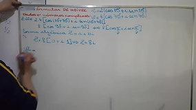 3º EM A e B - Matemática - Forma Trigonométrica - Números Complexos - Multiplicação e Divisão
