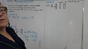2º EM A e B - Matemática - Determinantes - parte 1