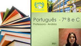 7º B e C - Português