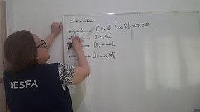 1º B - Matemática - Intervalos