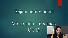 6º C e D - Matemática