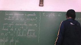 2º EM A e B - Física - Trabalho de um Gás