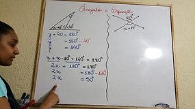 7º A e B - Matemática - parte 1