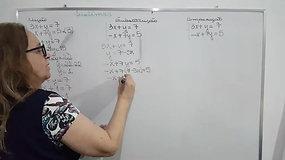 1º B - Matemática - Sistemas - Métodos- Adição, Substituição e Comparação
