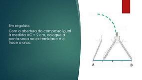 7º Ano - Matemática - Construção de Triângulos