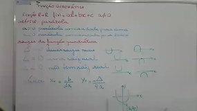 1° EM B - Matemática - Função polinomial do segundo grau - Maria Helena