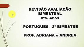 8º Ano - Português