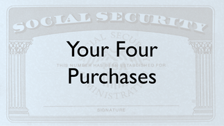 Your Four Purchases