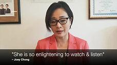 Joey Chong Testimony for Sunshine Irene