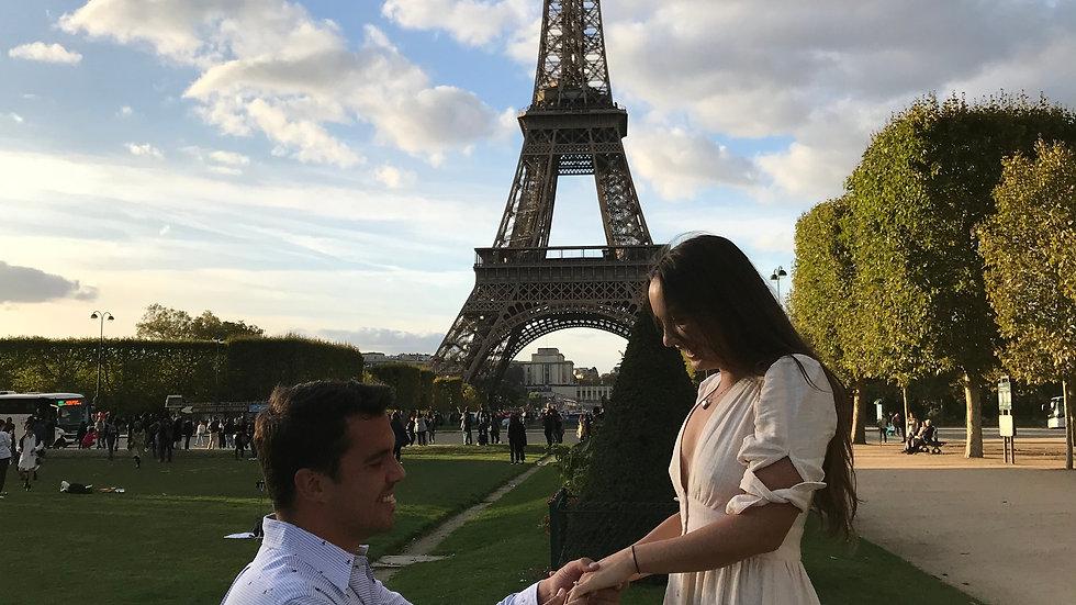 Giuseppe Proposes in Paris