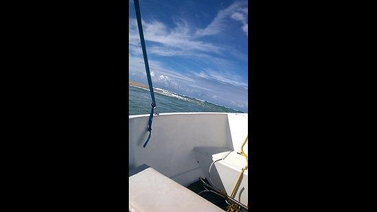 Saída do rio Caraíva