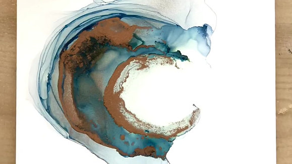 Alcohol Ink Fascination