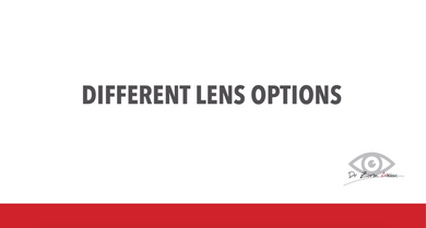 Cataract Surgery: Lens Options