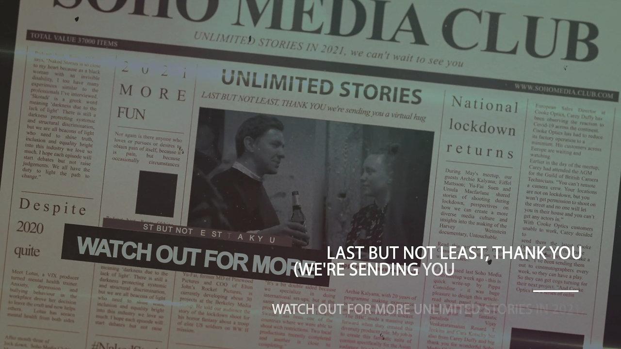 Soho Media Club 2020 Unwrapped