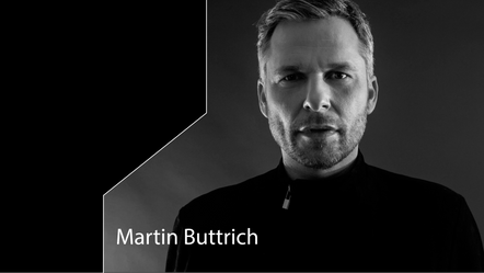 Martin Buttrich @ Bridge 48 , talking about RemindeЯ