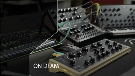 REmindEЯ in Action on MOOG DFAM