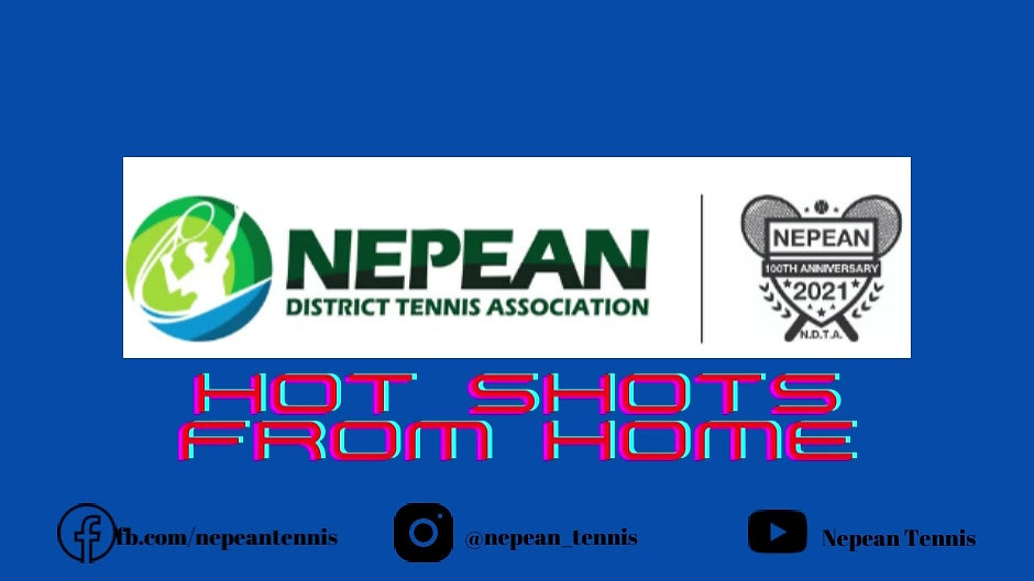 Nepean Tennis Hot Shots from Home