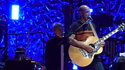The Who, backed by a 49 piece orchestra provided by Fine Arts Strings