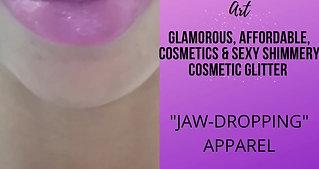 KINGSHE: Lipstick and Glitter Tutorial