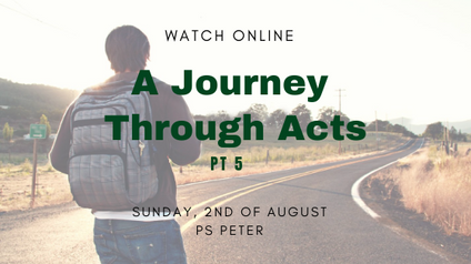 A Journey Though Acts