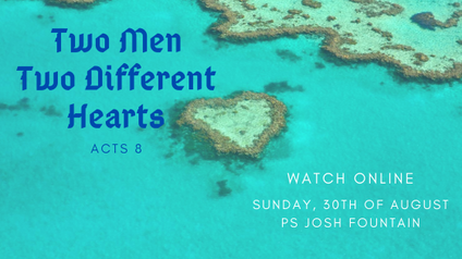 Two Men, Two Different Hearts.