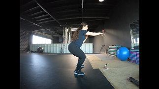 Squat Punch