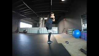 Squat with Side Kick