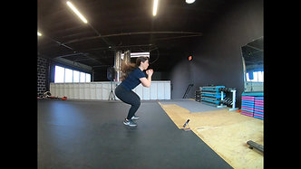 Lateral Squat Jump