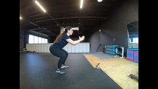 Controlled Squat Jump