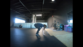 Burpee with Hold