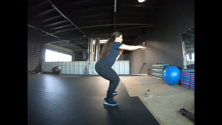 Squat with Alternating Punches