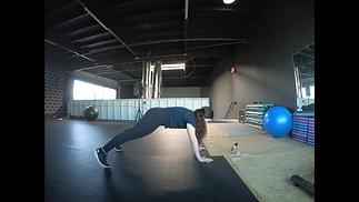 Plank Toe Taps