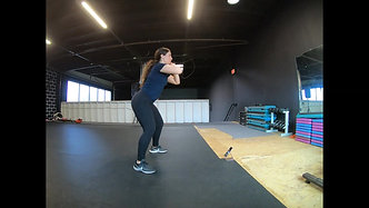 Lateral Double Squat